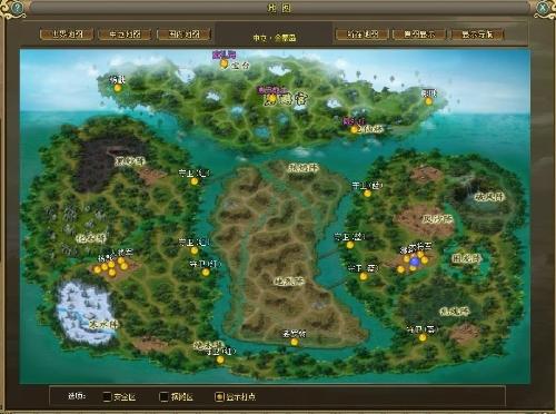 全新跨服战场地图